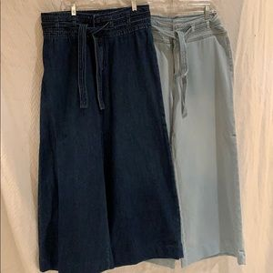 Lot of two denim free people pants